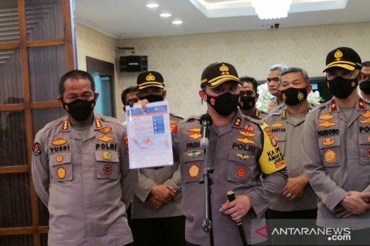 Polda Metro Jaya akan tindak tegas pelanggar protokol kesehatan