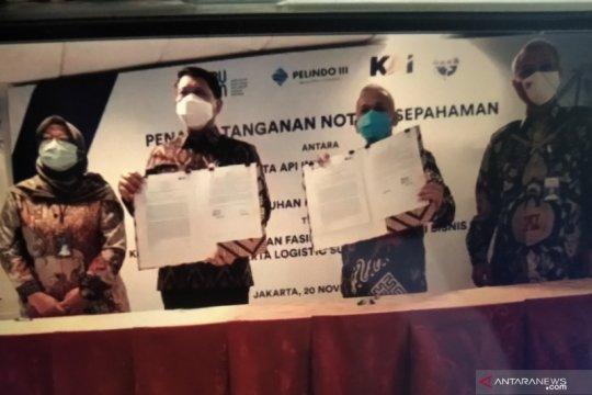 KAI-Pelindo III kerja sama kembangkan bisnis logistik