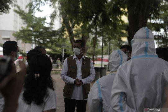Satgas COVID-19 imbau masyarakat di Tebet dan Petamburan tes usap