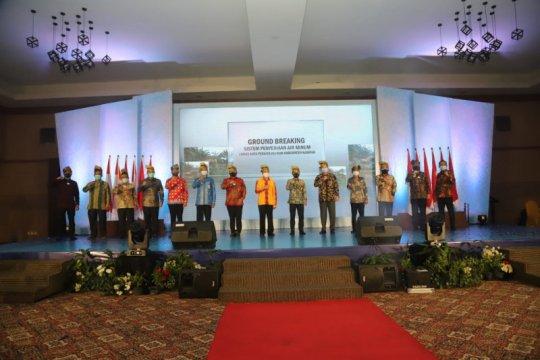 PT PP mulai bangun SPAM Kota Pekanbaru