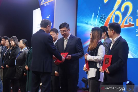 Pekerja China di Indonesia kembali raih penghargaan Video Sabuk Jalan