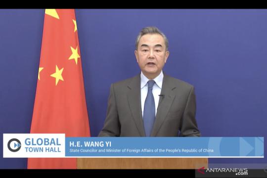 Menlu China sebut RCEP cerminkan komitmen keterbukaan kala pandemi