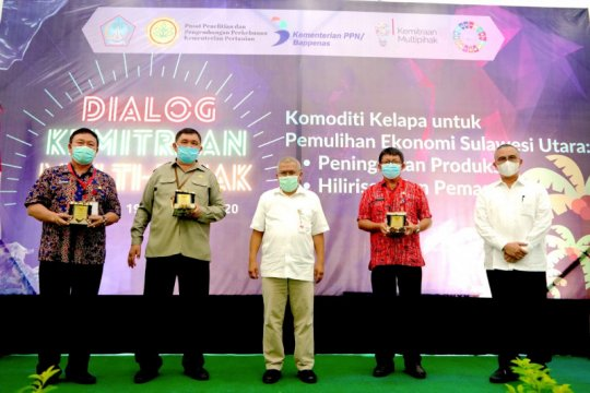 Bappenas dukung hilirisasi kelapa untuk bantu pemulihan ekonomi Sulut