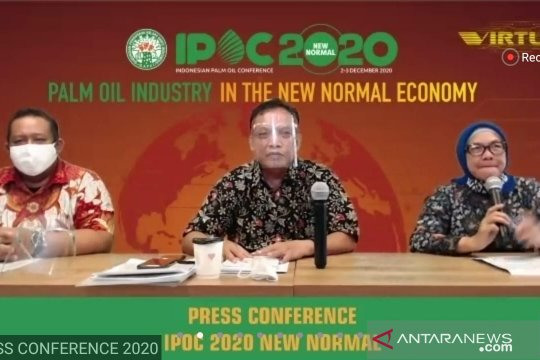 Gapki gelar IPOC secara virtual bahas industri sawit pada normal baru