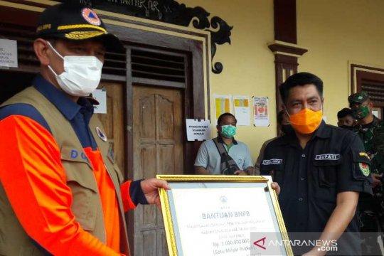 BNPB bantu Rp1 miliar untuk penanganan pengungsi Merapi di Magelang