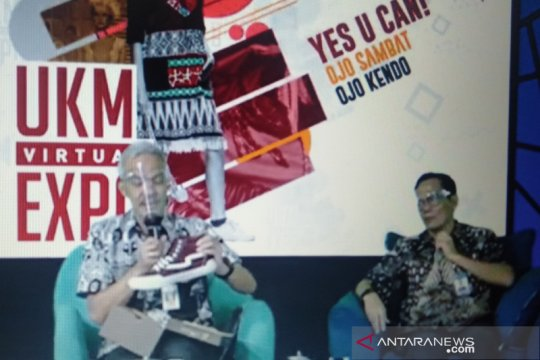 "Gelaran ""UKM Virtual Expo""  bukukan transaksi Rp4,8 miliar"