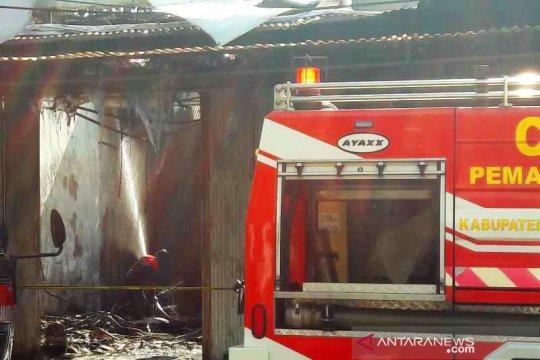 Kebakaran meliputi 11 bangunan rumah dan toko di Temanggung