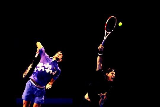 Pembuktian diri Thiem atas Djokovic di semi final ATP Finals