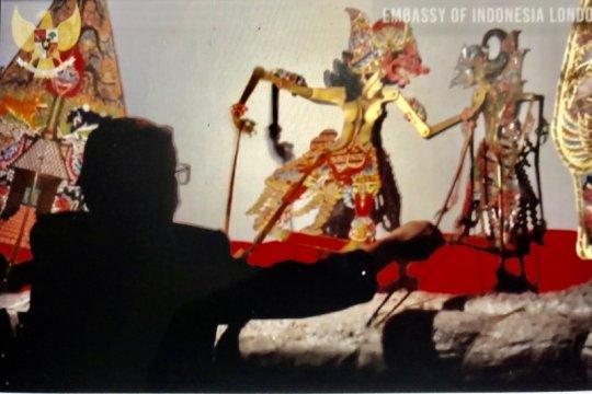 Pentas Wayang Lakon Jarasandha bahasa Inggris digelar daring di London