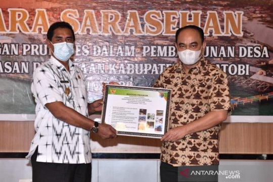 Kemendes PDTT dorong pengembangan desa maritim di Wakatobi