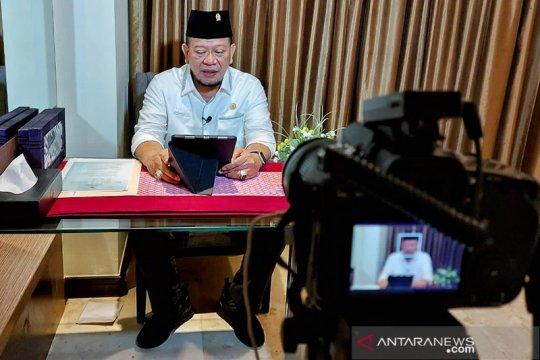 Hadir virtual di Haul Bani Shiddiq, Ketua DPD kutip doa Gus Mik