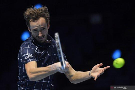 ATP Finals: Medvedev kalahkan Schwartzman