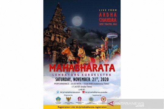 KJRI Mumbai hadirkan sendratari Mahabaratha virtual Sabtu malam