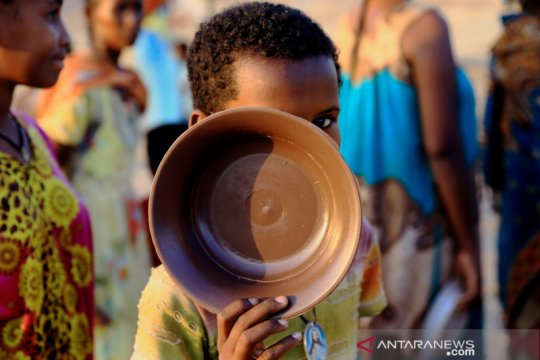 Hampir 20 juta orang hadapi krisis pangan tahun lalu
