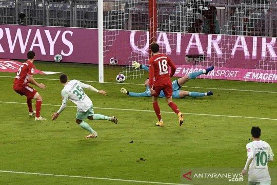 Bremen raih poin dari Bayern untuk pertama kalinya sejak 2010