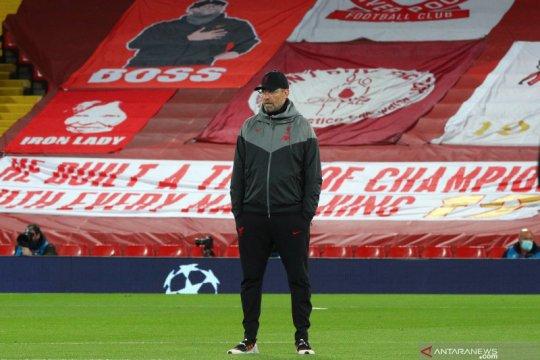 Jadwal padat, Klopp khawatir Liverpool tutup musim tanpa 11 pemain fit