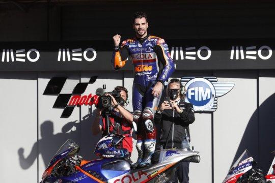 Oliveira tampil dominan juarai Grand Prix penutup musim di Portugal