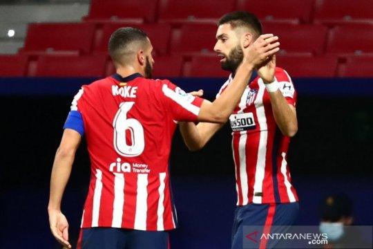 Klasemen Liga Spanyol: Atletico bayangi Sociedad sang pemuncak