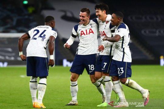 Tottenham bungkam Manchester City untuk menanjak ke puncak