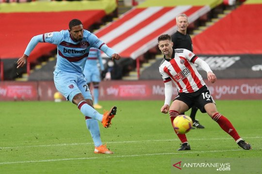West Ham perpanjang catatan buruk Sheffield United