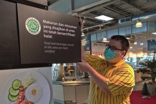 IKEA Restoran dan Kafe resmi dapatkan sertifikasi halal MUI
