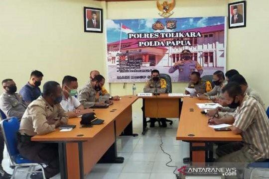 Cegah COVID-19, Kerumuman massa di Tolikara-Papua dibubarkan