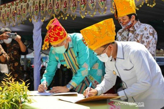 Masjid Jami Nurul Hasanah di Kota Palu diresmikan Gubernur Aceh