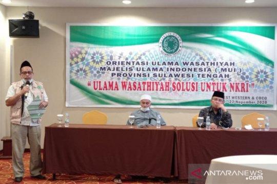 MUI-tokoh ormas Islam Sulteng deklarasikan wasathiyatul Islam