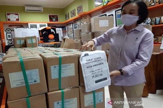 KPU: Persiapan logistik Pilkada Solo 90 persen