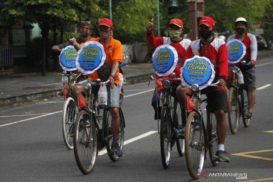 Kampanye simpatik Pilkada Damai di Kota Solo