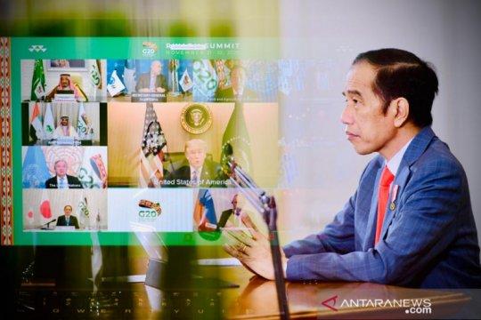 Presiden Jokowi: APBN 2021 fokus kepada empat hal