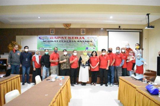 SP ANTARA apresiasi manajemen atas dukungan Rakernas 2020