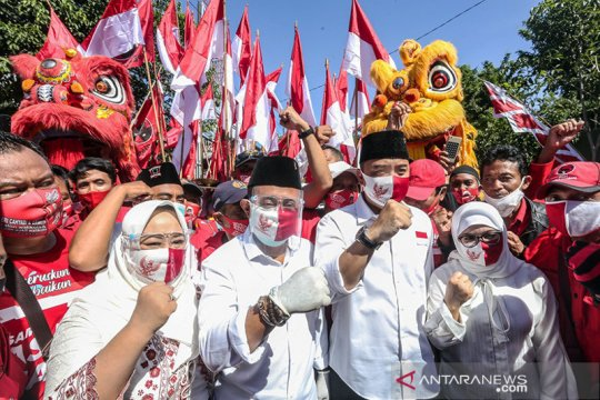 PDIP: Eri-Armuji unggul di SMRC bukti kepercayaan warga Surabaya