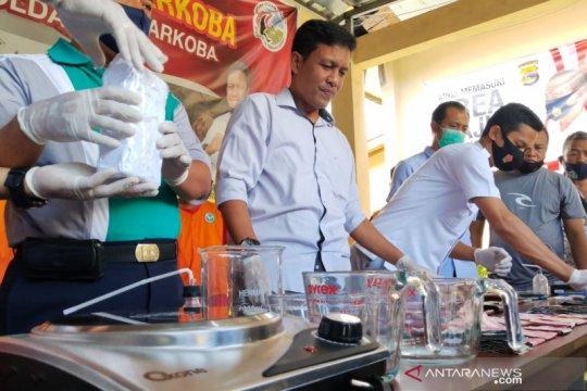 Polda NTB ungkap keberadaan rumah produksi sabu di Lombok Timur