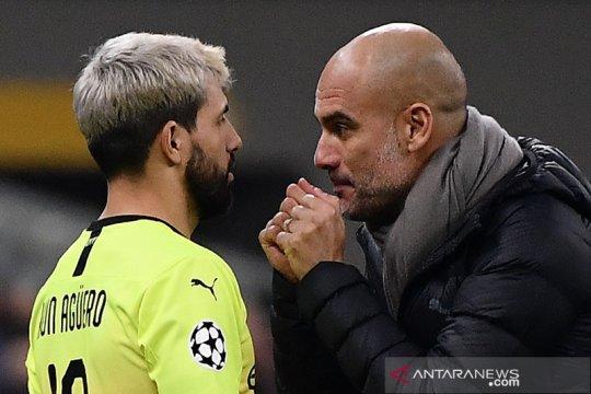 Man City berhati-hati tangani Aguero, kata Guardiola