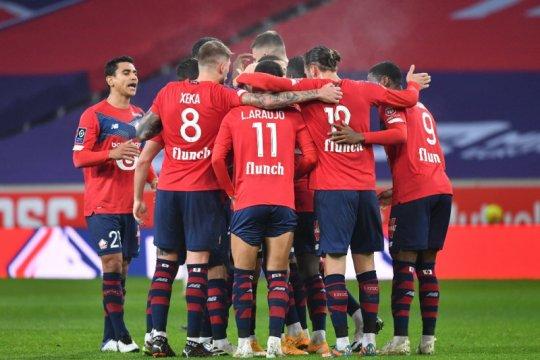 Hasil enam laga Liga Prancis, Yazici membuat Lille dekati PSG