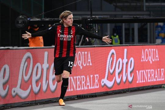 Klasemen Liga Italia, Milan rebut kembali posisi puncak dari Sassuolo