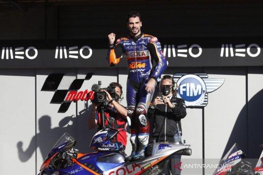 Balapan di kampung halaman, Miguel Oliveira juara seri pamungkas MotoGP 2020