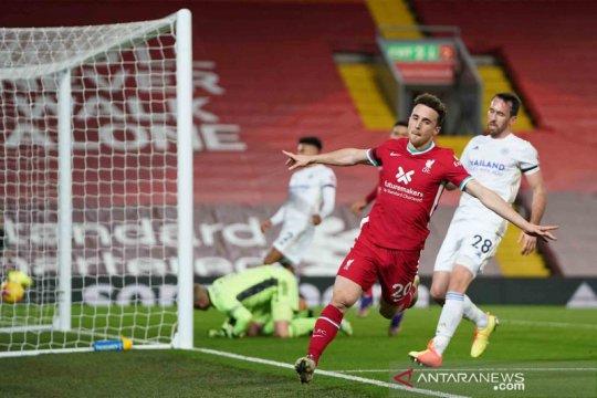 Liga Inggris: The Reds menang tiga gol tanpa balas dari The Foxes