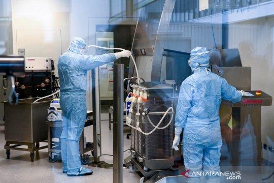 Mengintip produksi vaksin di IDT Biologika Jerman