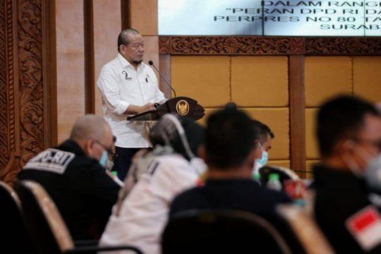 Ketua DPD ingin Jatim jadi percontohan percepatan pembangunan