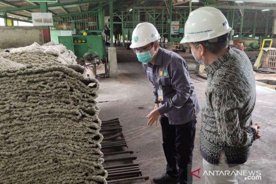 Harga karet tingkat pabrik di Kalbar capai Rp18.700/kg