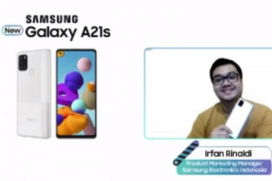 Samsung hadirkan Galaxy A21s warna baru, bawa memori luas