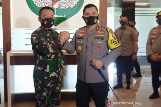 Kapolda Metro Jaya gelar safari ke Forkopimda DKI Jakarta