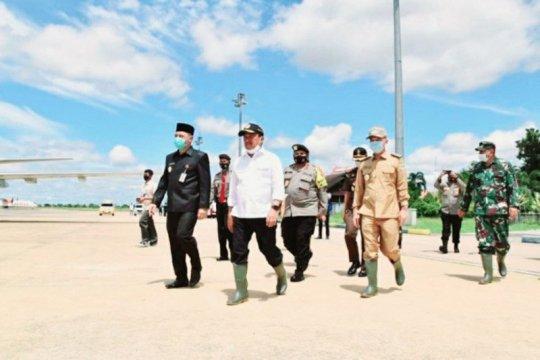 Wamenhan kunjungan kerja ke Kalimantan Tengah, tinjau lahan singkong
