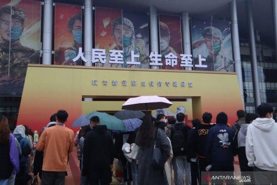 Ada Indonesia di Museum Anti-COVID di Wuhan