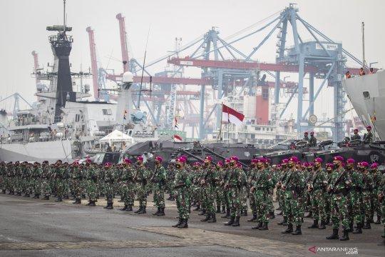 Apel Kesiapsiagaan TNI Angkatan Laut Tahun 2020