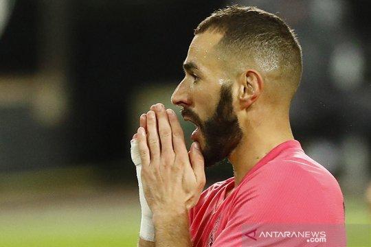 Benzema dan Sergio Ramos diperkirakan absen lawan Inter Milan