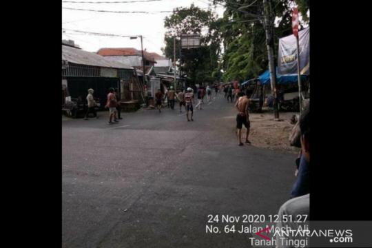 Polisi siagakan petugas patroli atasi bentrok warga Tanah Tinggi