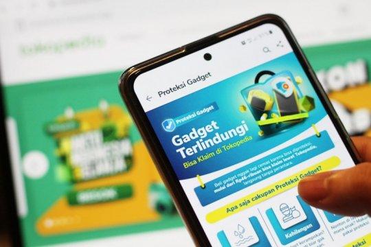 Produk asuransi gadget Tokopedia naik 70 kali lipat